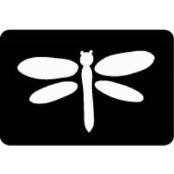 šablona za izradu airbrush ili glitter privremene tetovaže VILIN KONJIC (paket od 5 kom)