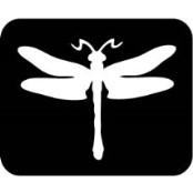šablona za izradu airbrush ili glitter privremene tetovaže VILIN KONJIČ VELIKI (paket od 5 kom)
