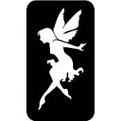 šablona za izradu airbrush ili glitter privremene tetovaže VILA 8 (paket od 5 kom)