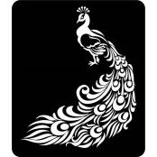 šablona za izradu airbrush ili glitter privremene tetovaže PAUN 3 (1 kom)