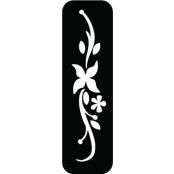 šablona za izradu airbrush ili glitter privremene tetovaže ARMBAND 1 (paket od 5 kom)