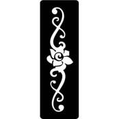 šablona za izradu airbrush ili glitter privremene tetovaže ARMBAND 3 (paket od 5 kom)