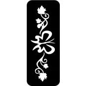 šablona za izradu airbrush ili glitter privremene tetovaže ARMBAND 5 (paket od 5 kom)