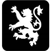 šablona za izradu airbrush ili glitter privremene tetovaže LAV CELTIC (paket od 5 kom)