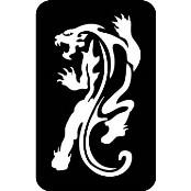 šablona za izradu airbrush ili glitter privremene tetovaže PUMA (paket od 5 kom)