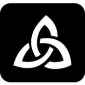 šablona za izradu airbrush ili glitter privremene tetovaže KELTSKI SIMBOL (paket od 5 kom)