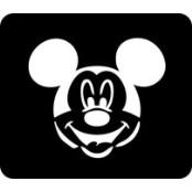 šablona za izradu airbrush ili glitter privremene tetovaže MICKEY (paket od 5 kom)