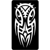 šablona za izradu airbrush ili glitter privremene tetovaže TRIBAL 13 (1 kom)